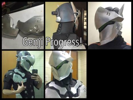 Late upload when i started my the cosplay by Genji-Shamada