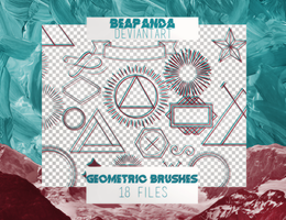 Brushes 002 // Geometric by BEAPANDA