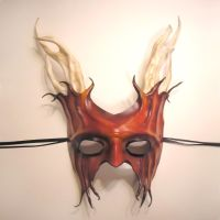 Leather Satyr Mask by teonova