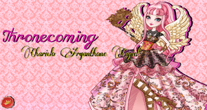 Ever After High C.A. Cupid Throneocoming Wallpaper by Wizplace