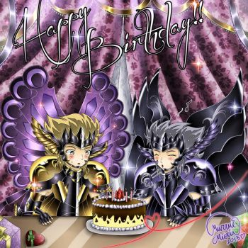 Happy Birthday Hypnos and Thanatos by MurrueMioria