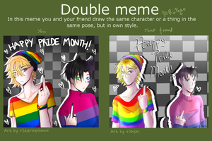 Pride Month Speicla|Double Meme Collab with Ohshi by StarletGem