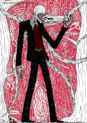 Slender Man by AntoniasOfTheAbyss