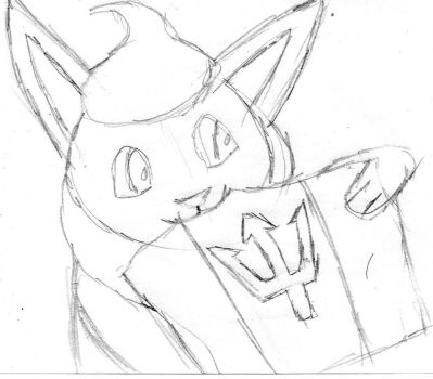Firox with Barbados (sketch) by Firox-Fox