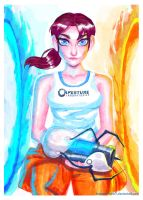 Lovely Chell by dreamwatcher7