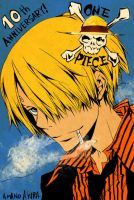 Sanji: Amano style by the-bosetsu