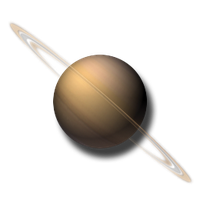 Saturn Planetary Widget and Icon by yereverluvinuncleber