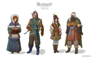 Atreyans part two by Hellstern