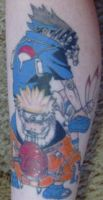 Sasuke and Naruto Tattoo by SasuNaru2006