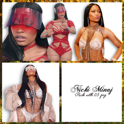 Nicki Minaj Pack PNG #17 by maarcopngs