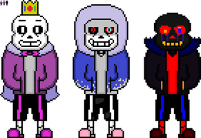 Even More Sans by flambeworm370