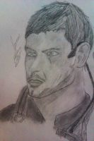 ATTEMPT at Chris Redfield. by Zombiebaile