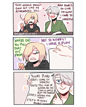 YOI: THE PLAN by Randomsplashes