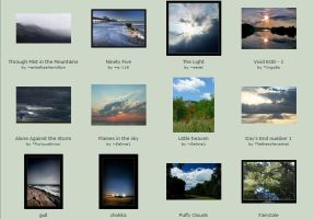 September submissions 2nd-4th by Scapes-club