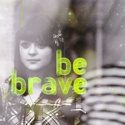 Be brave - A diptych by feedyoulight