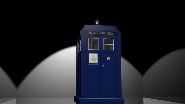 The tardis has landed by loghanwolf