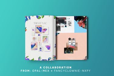 A Collaboration///ft.FancyClownie-NXPY by Opal-MEx