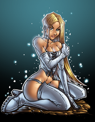 white queen colors by IsraelSivaArt