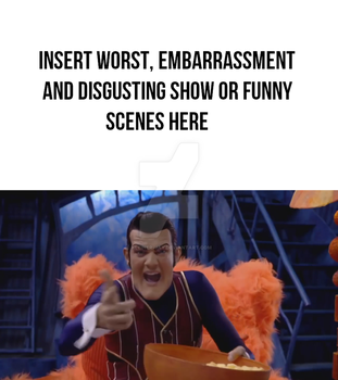 Robbie Rotten Reacts to [blank] by Kleiner-Jay