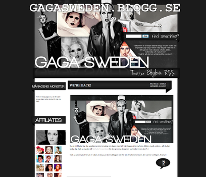 Lady Gaga Layout by Cicciz