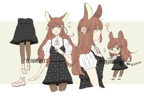 [CLOSED] Lovely Bunny Adopt by teakaorii