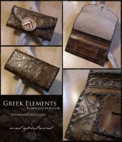 Greek Elements tobacco pouch by morgenland