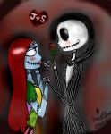 Jack and Sally Valentine by MissStar091995