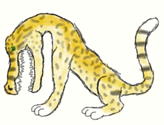 art fight attack 36 jaguadile by monkfishlover