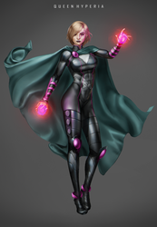 Queen Hyperia by Moonarc by LordAmon12