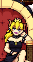 Bowsette by TheIndiePhoenix