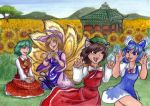 Touhou Project Commission by shiverz
