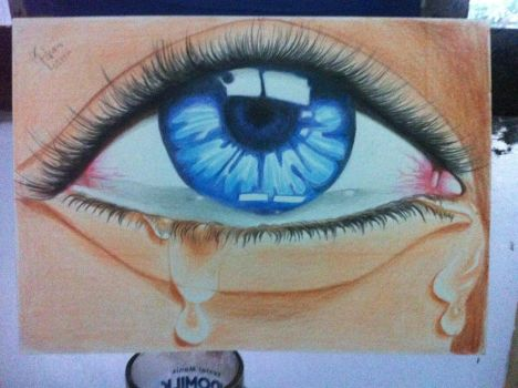 Tears dont fall by indraanshori