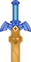 ALBW Golden Master Sword by BLUEamnesiac