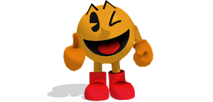 [MMD] Wii U Pac-Man DL by ShadowlesWOLF