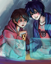 Coexistence - Hiro and Miguel - by KiraiRei