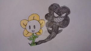 Flowey by superdes513