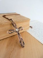 Cross necklace by UrsulaJewelry