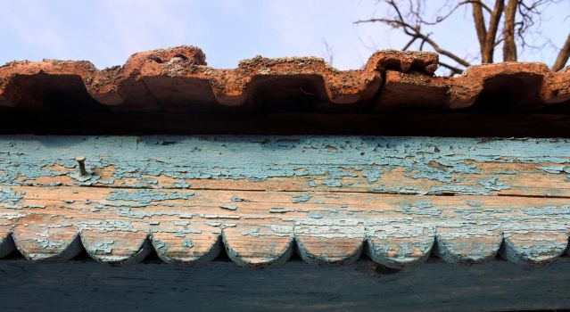 old roof edge by catalin-ad