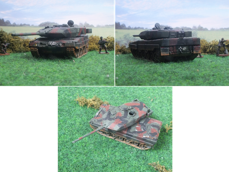 Revell Leopard 2A6M [Repaint] by Baryonyx62