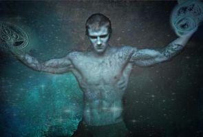 A summoning (using Male Stock By Vishstudio) by Donovan-Insights