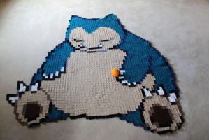 Snorlax Blanket by Melyntenshi