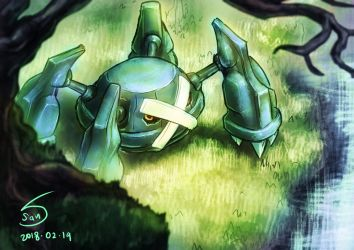 metagross by 000SanS000