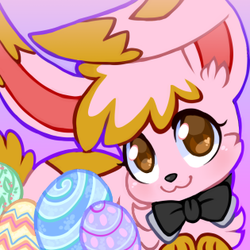 Easter Bun Icon by Ambunny