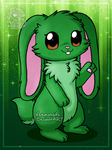[Commission] Tsuki the bunny by Veemonsito