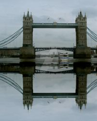 Reflections of London by Scubaozgirl
