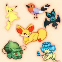 Pokemon XY team (1)