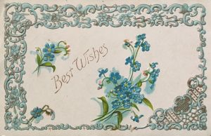 Best Wishes in Blue by Yesterdays-Paper