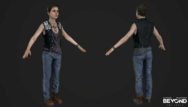 PS3 Beyond Two Souls - Jodie Jacket Navajo Episode by Crazy31139