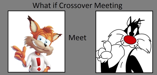 What if Bubsy met Sylvester? by FlainYesFourzeNo