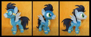 Wonderbolt Soarin by fireflytwinkletoes